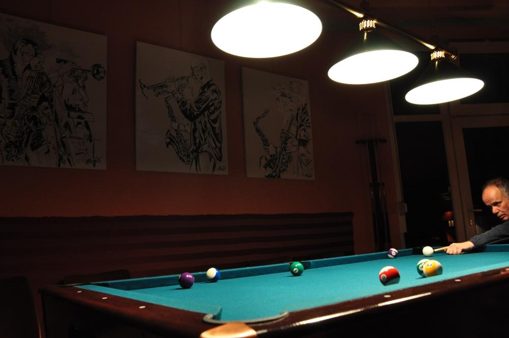 Billiard Spieler
